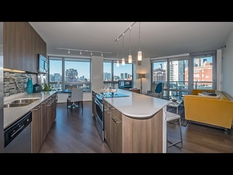 Tour a model apartment at Hubbard Place in River North