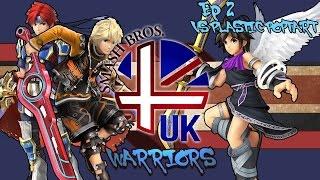 Smash 4 UK Warriors Ep 2 – vs PlasticPoptart (Shulk vs Pit)