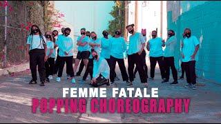Femme Fatale – Popping Choreography – Buummm by Olli