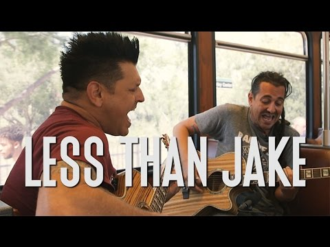 "Less Than Jake ""Good Enough"" - A Red Trolley Show (live performance)"