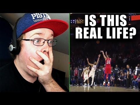 Reacting To Ben Simmons First Career NBA 3 Pointer (Not Clickbait)