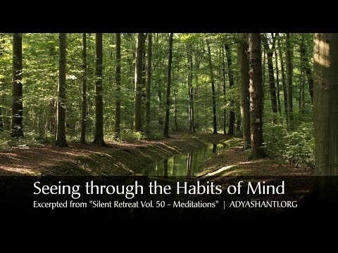 Adyashanti Guided Meditation: Seeing Through Habits of the Mind