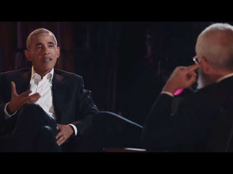 'I have dad moves': Barack Obama discusses dancing on David Letterman's new Netflix show