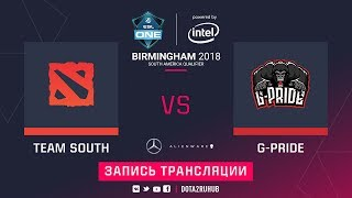 Mad Kings vs Gorillaz-Pride, ESL One Birmingham SA qual, game 1 [Eiritel]
