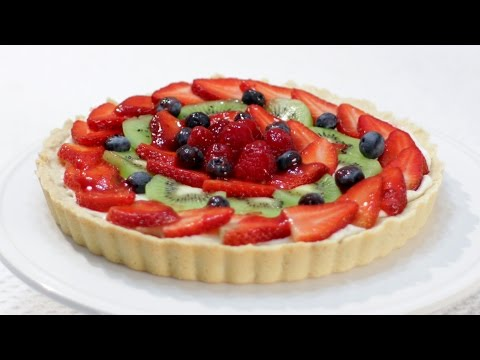 How to Make a Fruit Tart - Easy Video Recipe