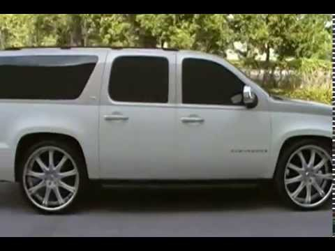 2007 Chevy Suburban LT with 26