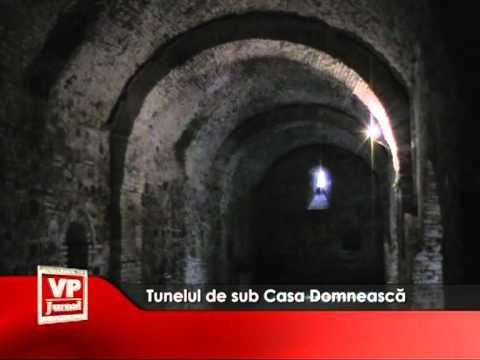 Tunelul de sub Casa Domnească