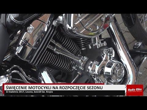Wideo1: Święcenie motocykli w Lesznie