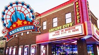 Video Exploring the NEW Arcade City in Branson! MP3, 3GP, MP4, WEBM, AVI, FLV Juni 2018