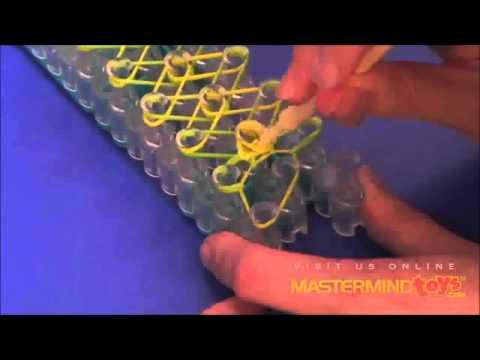 Bracelet Diamant Rainbow Loom France