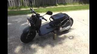 5. 163cc GY6 Honda Ruckus walk around