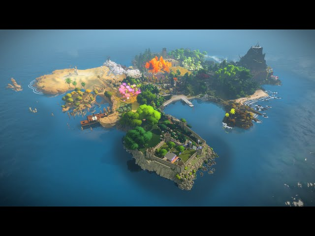 Видео к игре The Witness