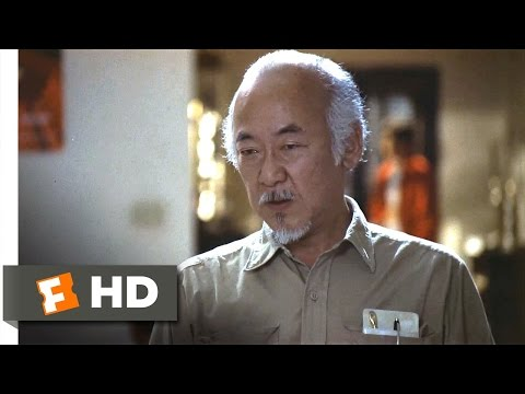 The Karate Kid Part III - Miyagi Makes a Stand Scene (8/10) | Movieclips