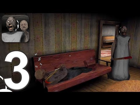 Granny: Chapter Two - Gameplay Walkthrough Part 3 - Granny/Grandpa (iOS, Android)