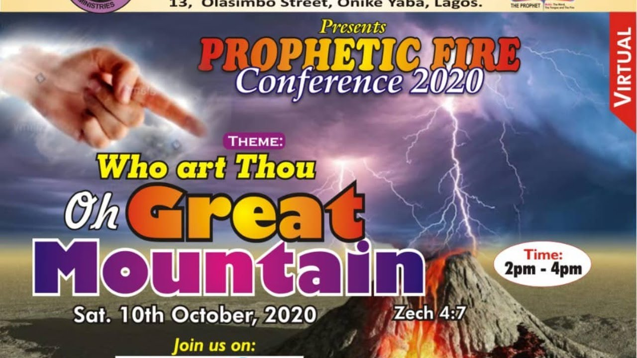 MFM Prophetic Fire Conference 10th October 2020 - Livestream