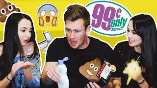 I challenged The Merrell Twins to the ultimate 99c store product test challenge. Who's product is the weirdest?► Subscribe To See More :) - http://bit.ly/OliWhiteTV► Watch our other video! - https://www.youtube.com/watch?v=WTca20B0ZkA► Subscribe to the Merrell Twins here - http://bit.ly/1VfcqBT ► ORDER THE TAKEOVER NOW! - http://www.gen-next.co.uk▶︎ (UK) ORDER GENERATION NEXT - http://amzn.to/1QkOuMw▶︎ (USA) http://bit.ly/GenNextUSBookMY INSTAGRAM: @OliWhiteTVMY TWITTER: @OliWhiteTVMY SNAPCHAT: OliWhite1MY FACEBOOK: fb.com/OliWhiteTV