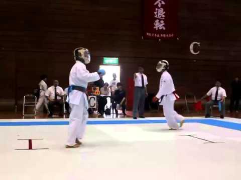 平成26年度 沖縄県中学校春季大会 うるま空手スクール 田村