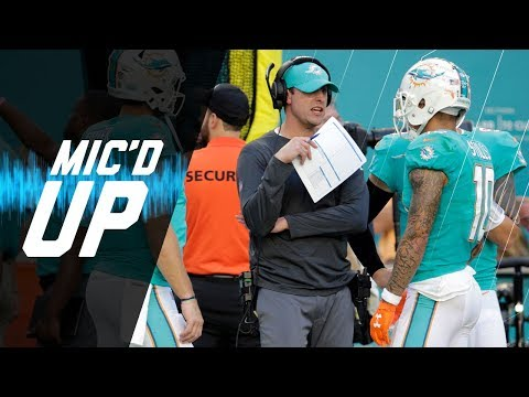 Video: Adam Gase Mic'd Up vs. Former Team the Denver Broncos | NFL Sound FX