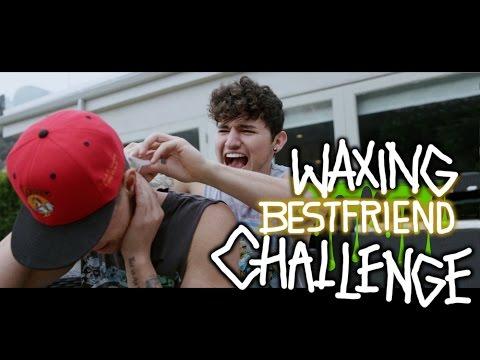 Waxing Best Friend Challenge