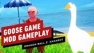Dragon Ball Z: Kakarot - Untitled Goose Game Mod Gameplay by IGN