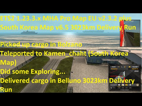 MHAPro map EU 2.3.2 for ETS2 1.23.x