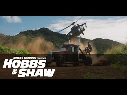 Hobbs and Shaw Vs Hélicop. Extrait : Fast and furious 2019