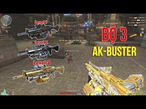 Sức Mạnh Của BỘ 3 AK47-BUSTER Từ Level 1 Đến Level 3 - Rùa Ngáo - Thời lượng: 11:14.