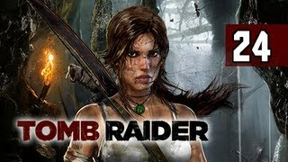 Tomb Raider Walkthrough - Part 24 Return to Shantytown 2013 Gameplay Commentary