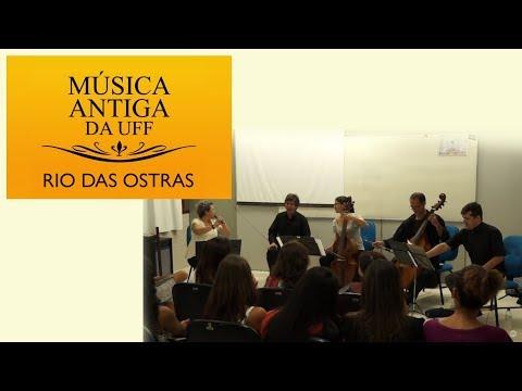 Concerto de Música Antiga da UFF em Rio das Ostras