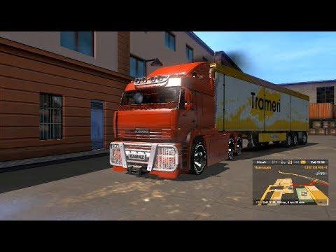 180 Niz Ulici Nenormalen kamion / Euro Truck Simulator 2 / Kmaz / #1