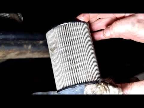 расположение топливный фильтр на форд мондео 4