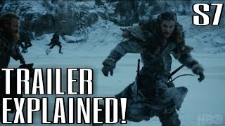 The Game of Thrones Season 7 Trailer has arrived ladies & gentlemen. Get Hype! Let's break it down and discuss what we see.