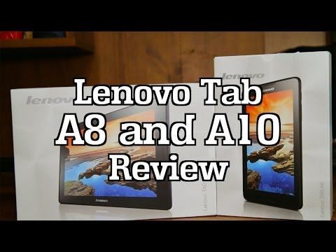 Lenovo IdeaTab A8 & A10 Tablet Review
