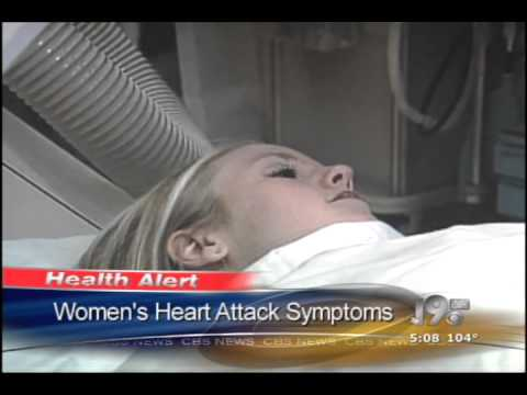 CBS 19 Women's Heart Attack Symptoms