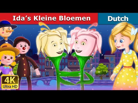 Ida's Kleine Bloemen | Ida's Little Flowers in Dutch | 4K UHD | Dutch Fairy Tales