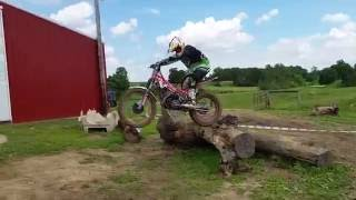 5. 2016-06-05 Elliot Key at Crosswinds Trials on his Beta EVO 2T 125 Factory