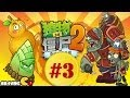 Plants Vs Zombies 2: Kung Fu World - Part 3 Walkthrough Gameplay (China Version)