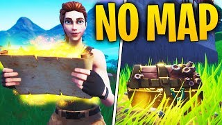 Can You Find TREASURE With NO TREASURE MAP? | Do Skins Change Hitbox? | Fortnite Mythbusters