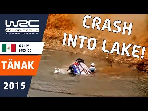 WRC Rally Guanajuato México 2015: Crash Ott Tänak