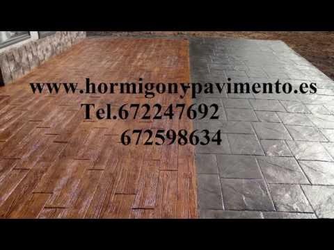 Ofertas Hormigon Impreso Cayuela,Burgos Tel.672247692