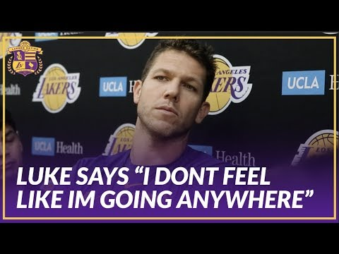 Video: Lakers Interview: Luke Walton Reacts to Article of His Meeting with Magic After Teams Slow Start