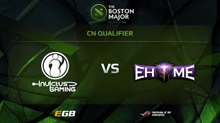 IG vs EHOME.K, Boston Major CN Qualifiers, Tiebraker