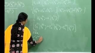 Mod-01 Lec-37 Perturbation Theory - II