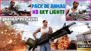 """Download do pack de armas no meu BLOG:http://gtaevolution2byoliveira.blogspot.com.br/p/download-pack-de-armas-3parte.html(Desça a página do blog até encontrar o download ok!)Canal do Sky Lightt:https://www.youtube.com/channel/UC3Ut9RbglHiWAOXOw52fPPw/videos=========================================VISITE NOSSO GRUPO GTA SA MODS E IDÉIAS NO FACEBOOKPARA RECEBER NOVIDADES DOS AMIGOS VICIADOS EM GTA:https://www.facebook.com/groups/362380907283067/VEJA TAMBÉM OUTRAS MODIFICAÇÕES PARA O SEU GTA SAN ANDREAS!DOWNLOAD DE NOVOS MODS DE SUPER HERÓIS PARA GTA SA:http://gtaevolution5byoliveira.blogspot.com.br/p/cleo-mods-de-super-herois.htmlDOWNLOAD DE NOVOS LANS FLARES PARA GTA SA:http://gtaevolution3byoliveira.blogspot.com.br/p/novos-lans-flares-para-gta-sa-reflexos.htmlDOWNLOAD DE NOVOS SKYBOX PARA GTA SA:http://gtaevolution3byoliveira.blogspot.com.br/p/skybox-mod-novo-ceu-realista-para-gta-sa.htmlDOWNLOAD DE NOVOS EFEITOS E PARTICULAS:http://gtaevolution3byoliveira.blogspot.com.br/p/novos-efeitos-e-particulas-para-gta-sa.htmlDOWNLOAD DE NOVOS EFEITOS REALISTAS:http://gtaevolution3byoliveira.blogspot.com.br/p/novos-efeitos-realistas-para-gta-sa.htmlDOWNLOAD PACK DE PEDS (Pack de pedestres):http://gtaevolution3byoliveira.blogspot.com.br/p/novo-pack-de-peds-para-gta-sa-skins-de.htmlDOWNLOAD DE NOVOS ENB SERIES BY OLIVEIRA PARA GTA SA:http://gtaevolution3byoliveira.blogspot.com.br/p/download-de-enbseries-para-gta-san.htmlNOVOS Pack de veículos para GTA SA:http://gtaevolution5byoliveira.blogspot.com.br/p/novos-packs-de-veiculos-para-gta-san.htmlVeja o Vídeo de instalação dos mods funcionais para os veículos:MOD ImVehFt & Steeringhttps://www.youtube.com/watch?v=xJzRqIsTy7ANOVAS Part's Tuning ,Cores e Modificações para os Veículos:http://gtaevolution5byoliveira.blogspot.com.br/p/novas-par.htmlNOVOS Skins """"player.img"""" de para trocar pelo """"CJ"""":http://gtaevolution5byoliveira.blogspot.com.br/p/blog-page.htmlNOVOS Skins para """"SKIN SELECTOR"""" de para GTA SA:http://gtaevolution3byoliveira."""