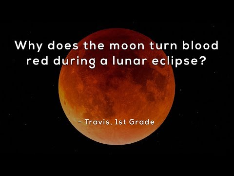Why Does The Moon Turn Blood Red During A Lunar Eclipse?