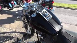 7. 021580 - 2004 Harley Davidson Softail Standard FXST - Used Motorcycle For Sale