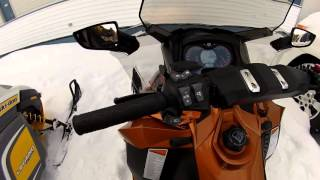 10. Luap Snowflake, snowmobile Grand Touring starting