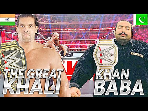 KHAN BABA VS THE GREAT KHALI | COMPARISON 2020