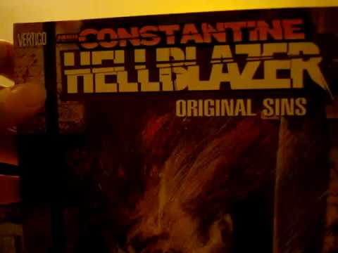 """John Constantine! Hellblazer. """"Original Sins"""". The first of the graphic novel collection. Review"""