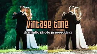 Vintage Tone - Dramatic Color Effect Photo Prewedding - Photoshop Tutorial SUBSCRIBE For Latest Updates!! https://goo.gl/QtshMp Watch the Latest Tutorial Mor...